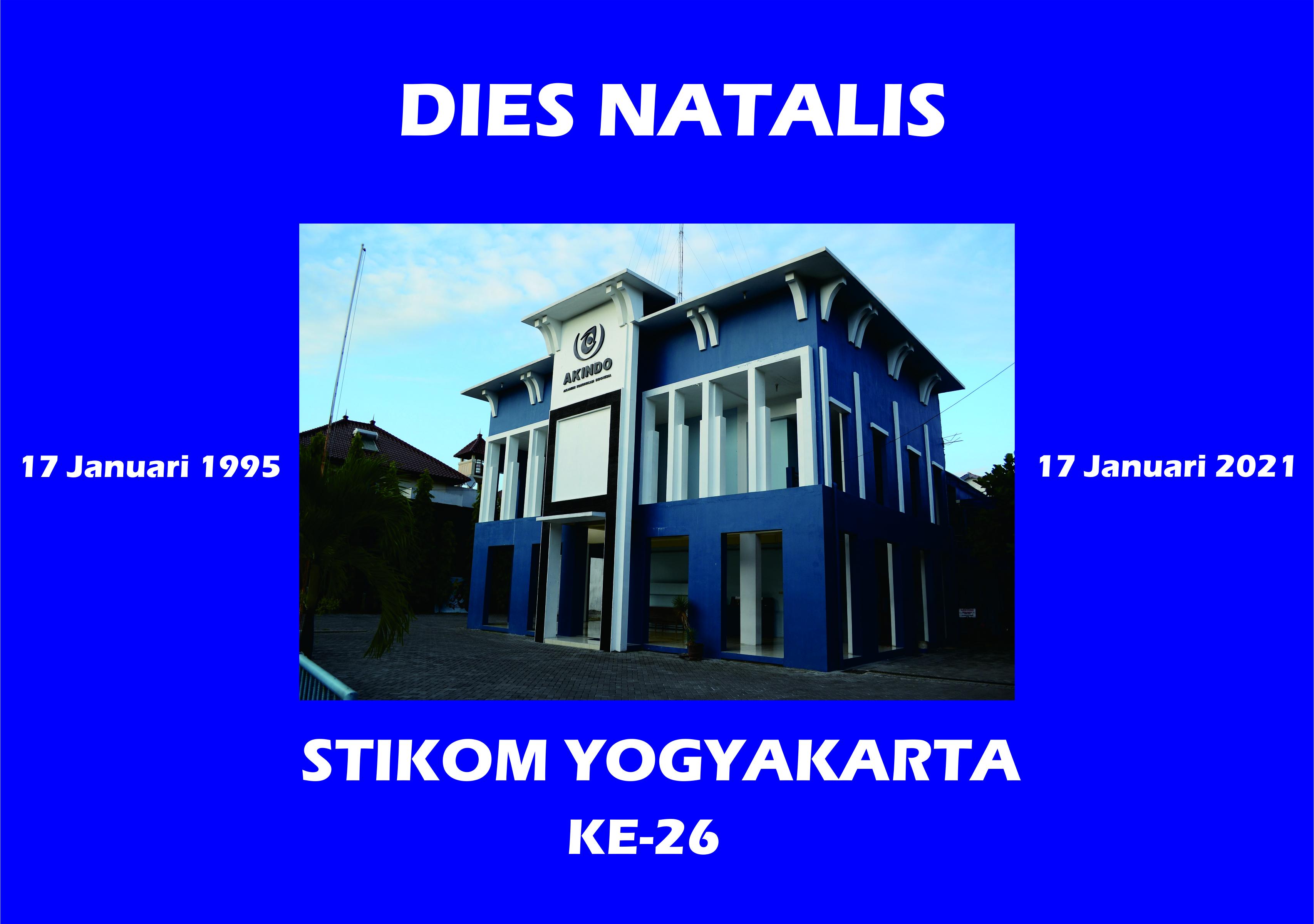Dies Natalis STIKOM Yogyakarta Ke-26